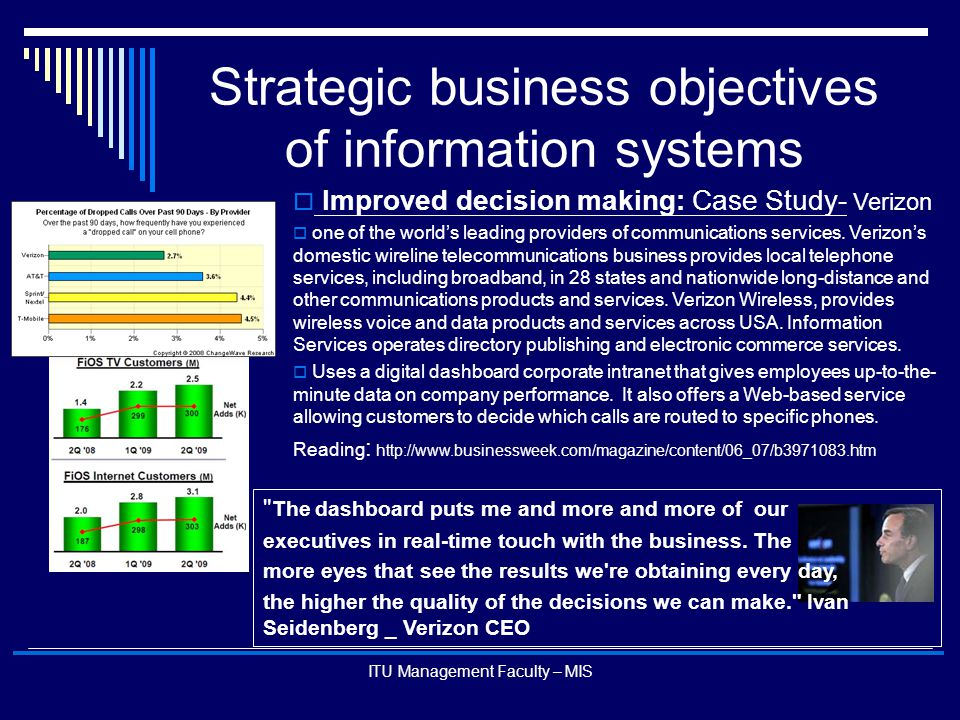 can information systems provide businesses with Information systems improve business quality significantly, here are some ways they do it if you study the origin of information systems, it was from operations research and mostly as a result of ii world war and originated in the us, that is why.