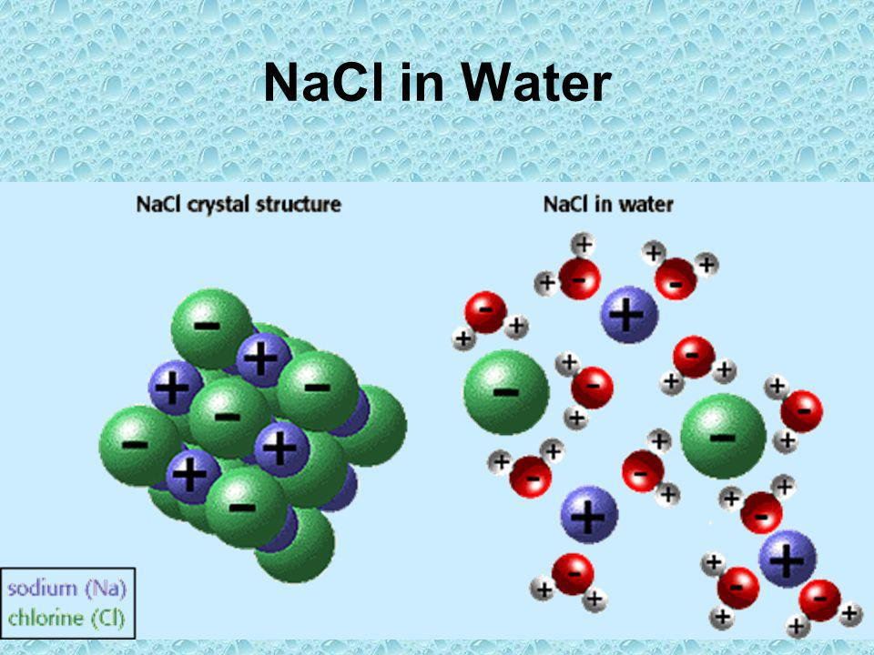 NaCl in Water