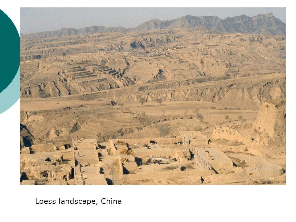 Loess landscape, China