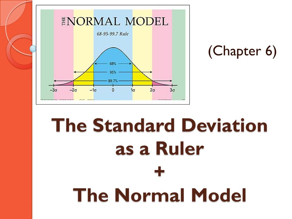 The Standard Deviation as a Ruler + The Normal Model