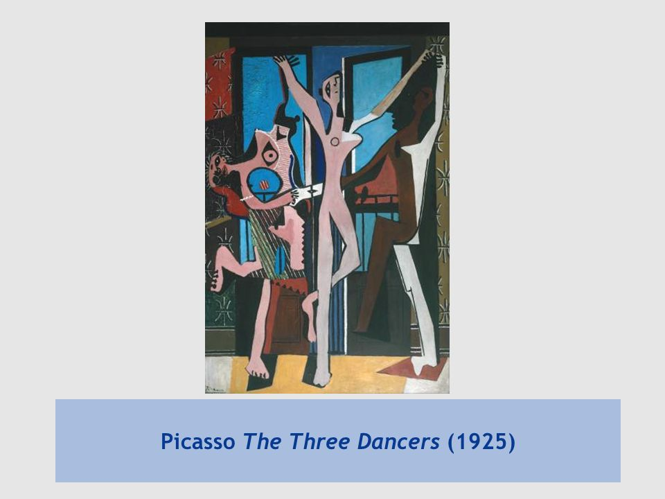 Picasso The Three Dancers (1925)