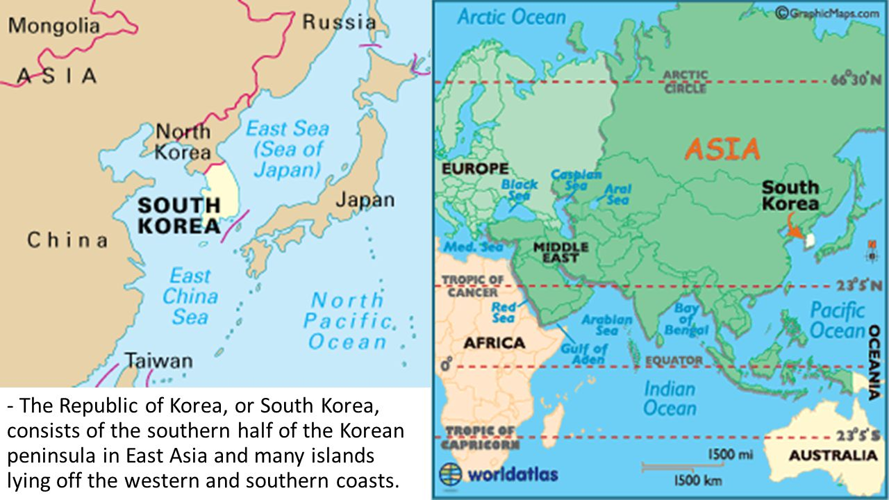 Map Of Southern And Eastern Asia.Ss7g9 The Student Will Locate Selected Features In Southern And