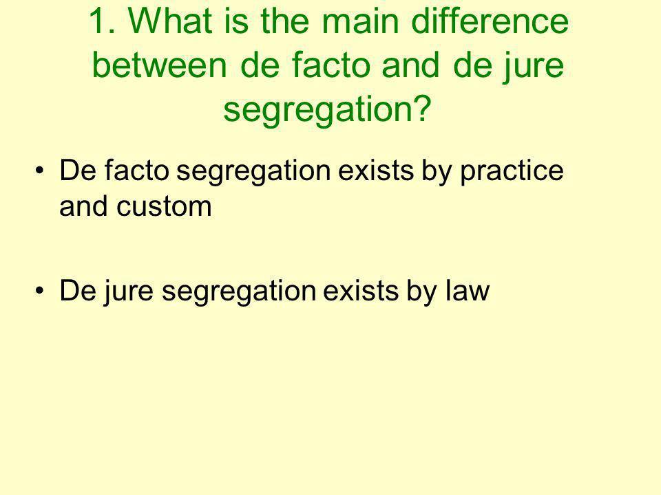 define de jure and de facto