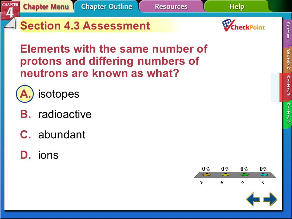 A B C D Section 4.3 Assessment