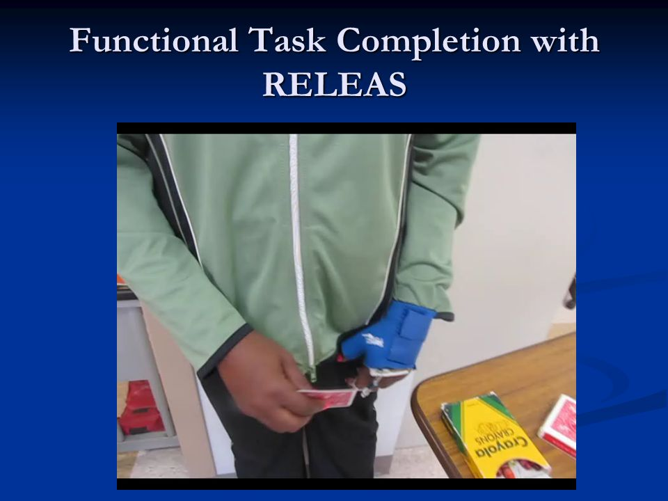 Functional Task Completion with RELEAS