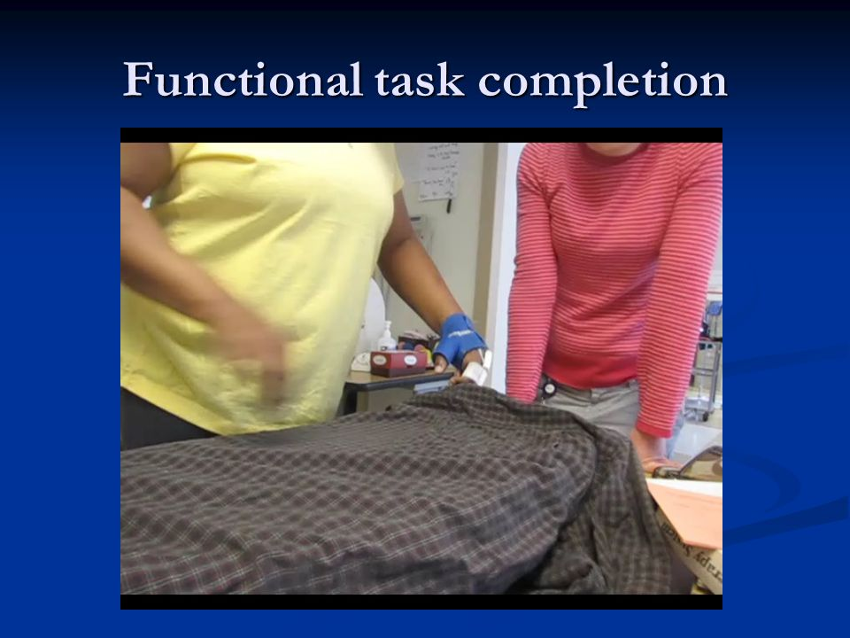 Functional task completion