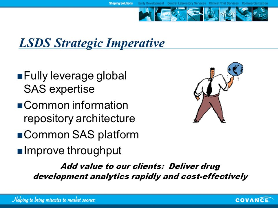 LSDS Strategic Imperative