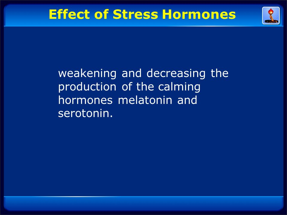 Effect of Stress Hormones