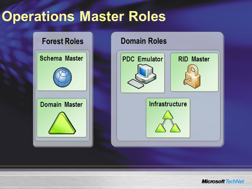 Operations Master Roles