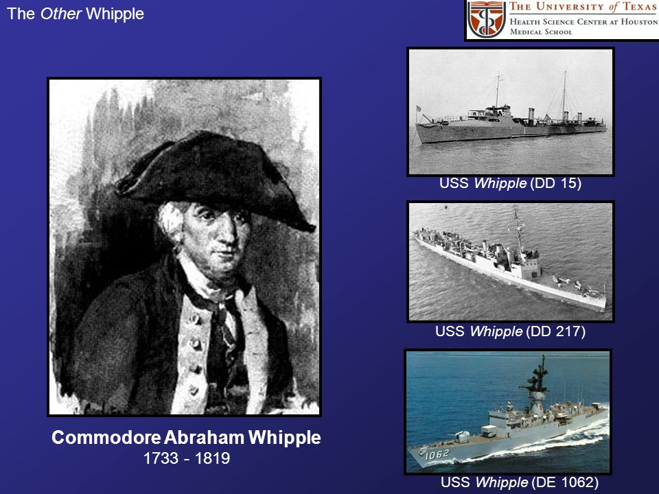 Commodore Abraham Whipple