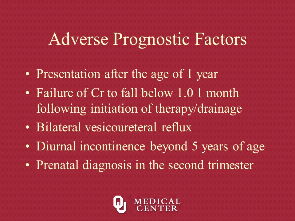 Adverse Prognostic Factors