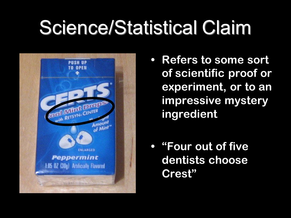 Science/Statistical Claim