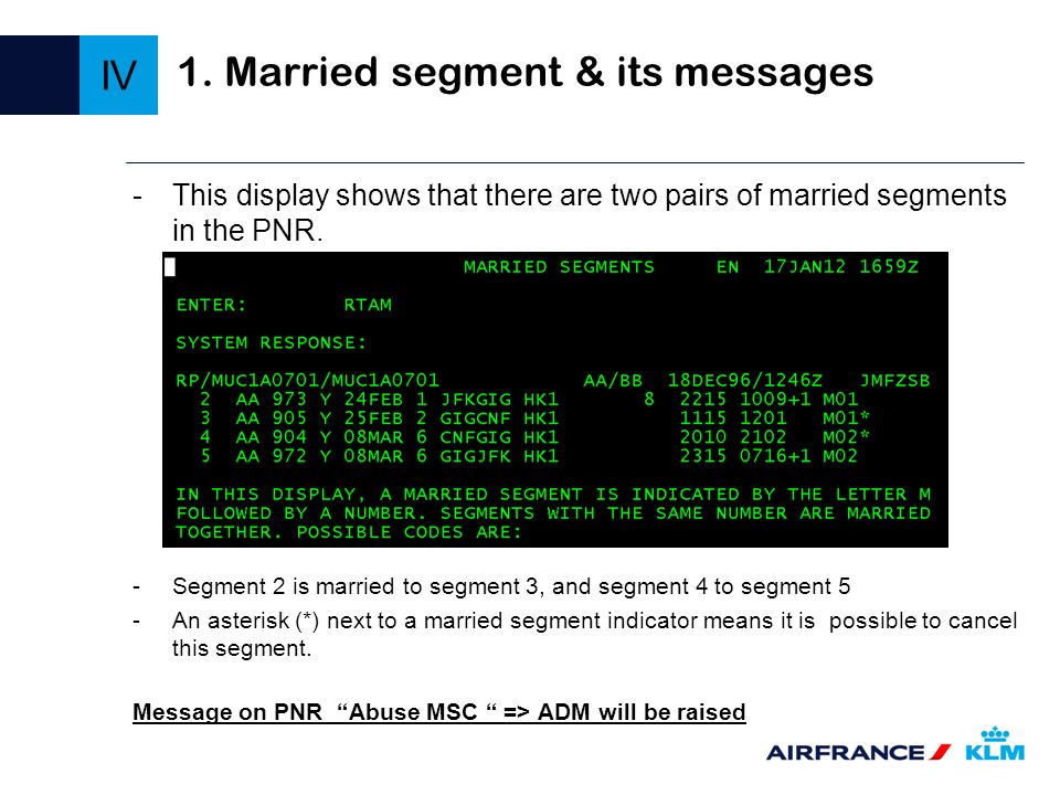 1. Married segment & its messages