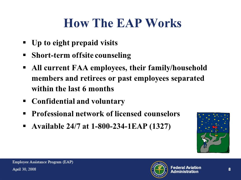 How The EAP Works Up to eight prepaid visits