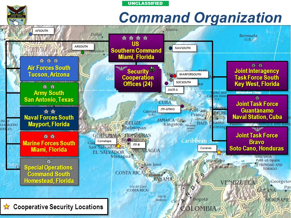 Joint Interagency Task Force South Joint Task Force Guantánamo
