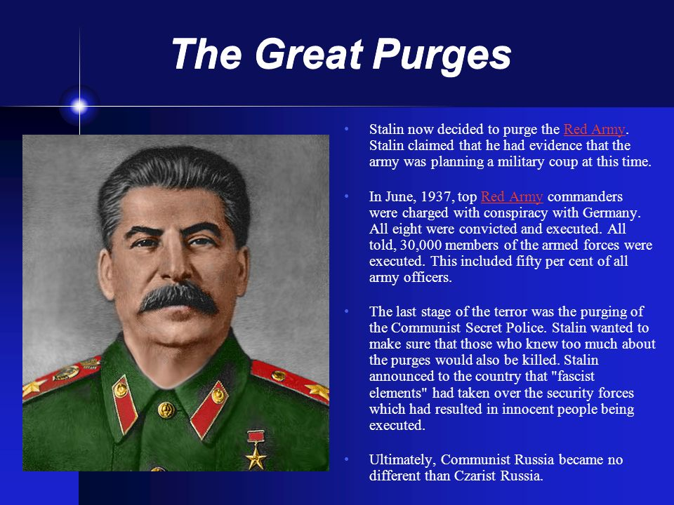 The Great Purges