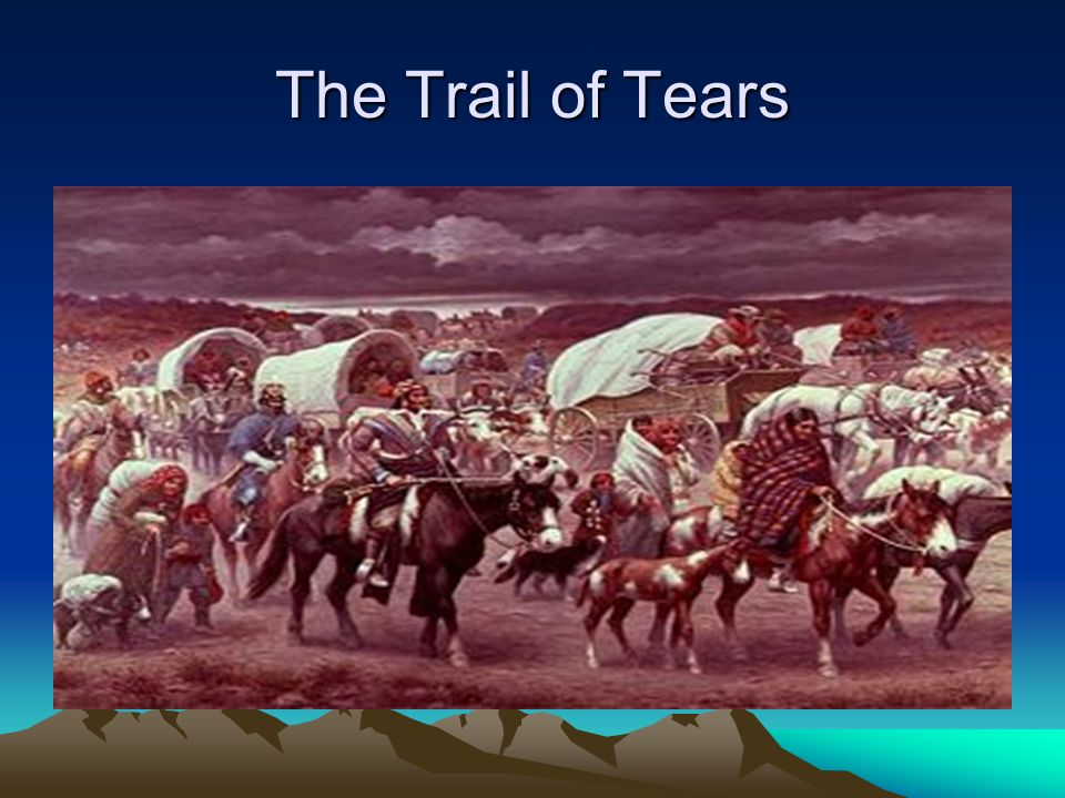 The Trail of Tears http://en.wikipedia.org/wiki/Native_Americans_in_the_United_States