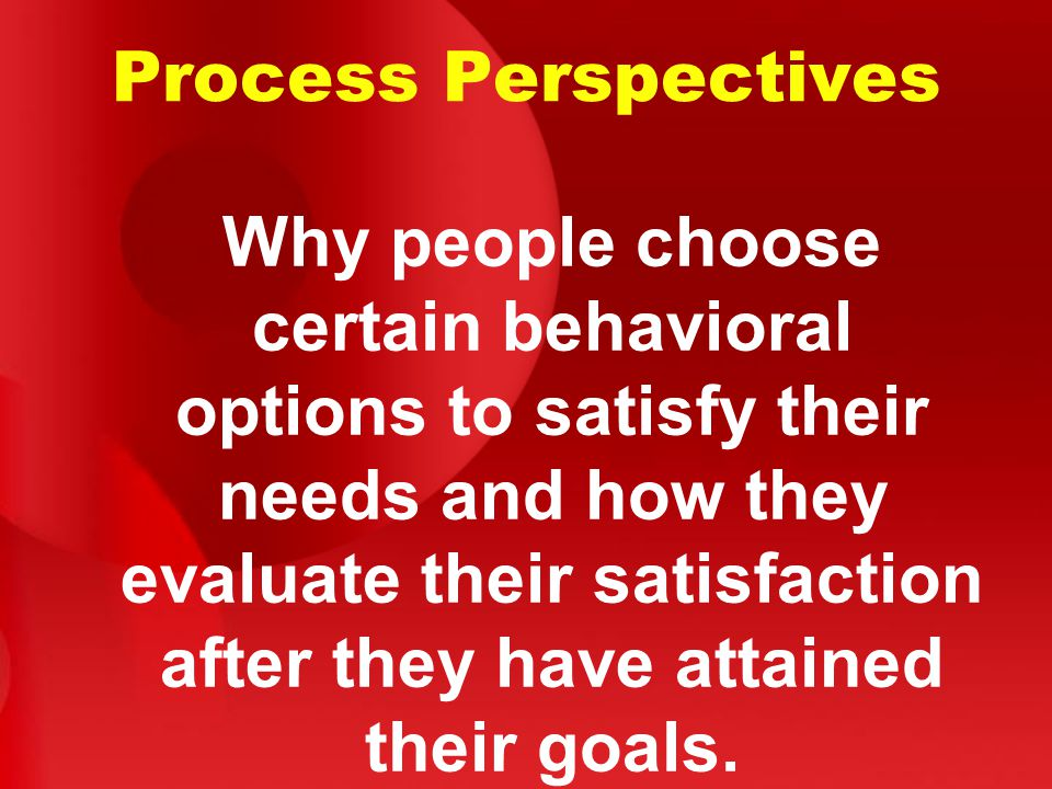 Process Perspectives