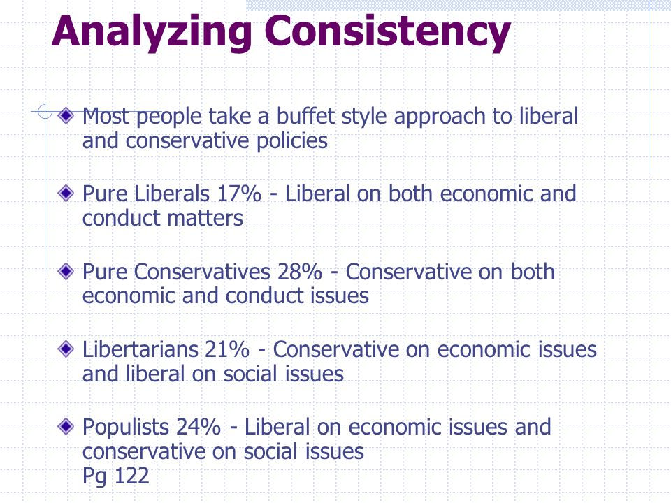 Analyzing Consistency