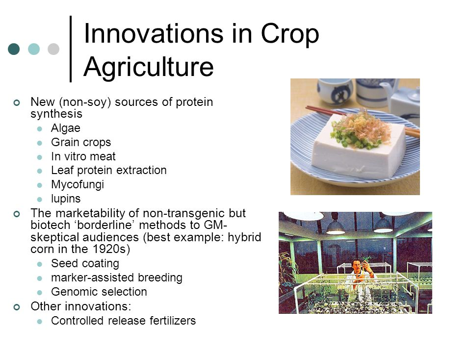 Innovations in Crop Agriculture