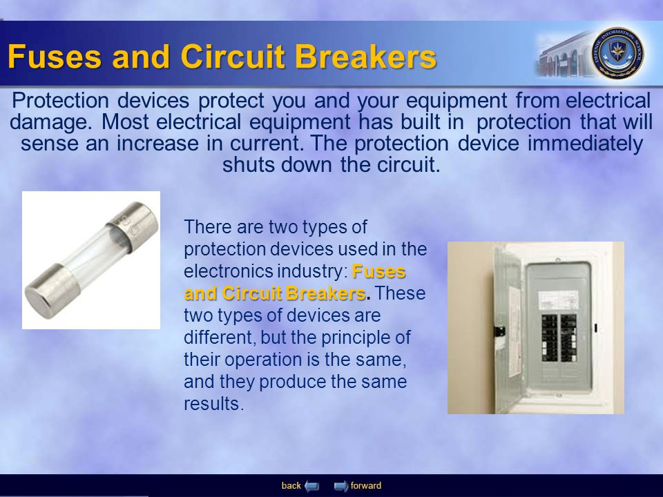 Different Types of Circuit Breakers and Fuses
