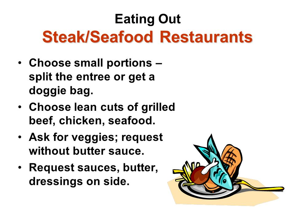 Eating Out Steak/Seafood Restaurants