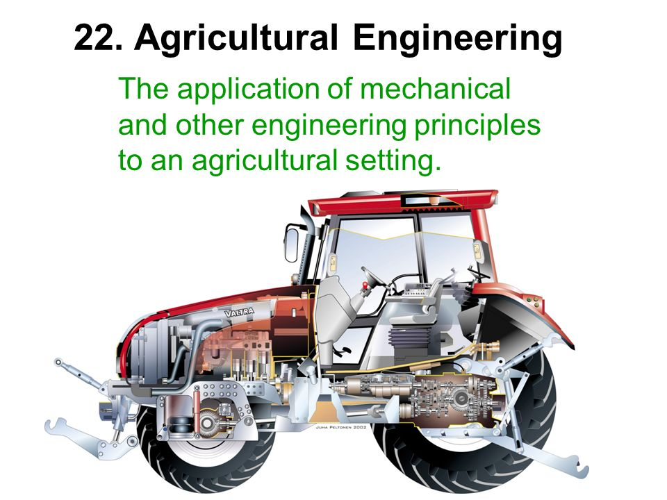 22. Agricultural Engineering