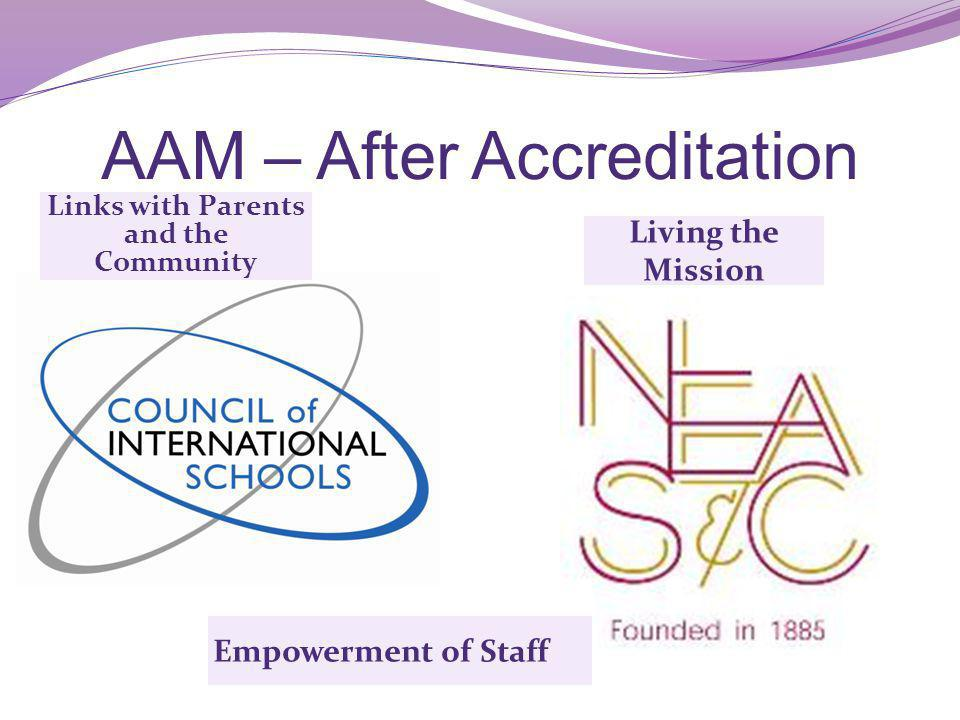 AAM – After Accreditation