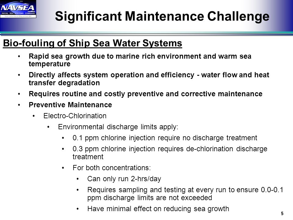 Significant Maintenance Challenge
