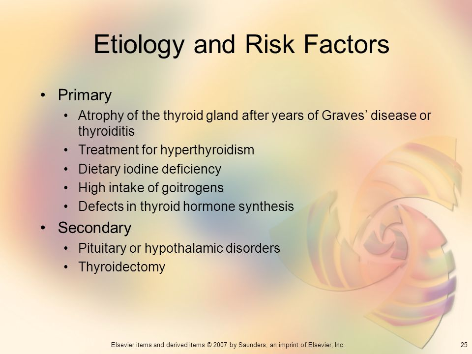 Etiology and Risk Factors
