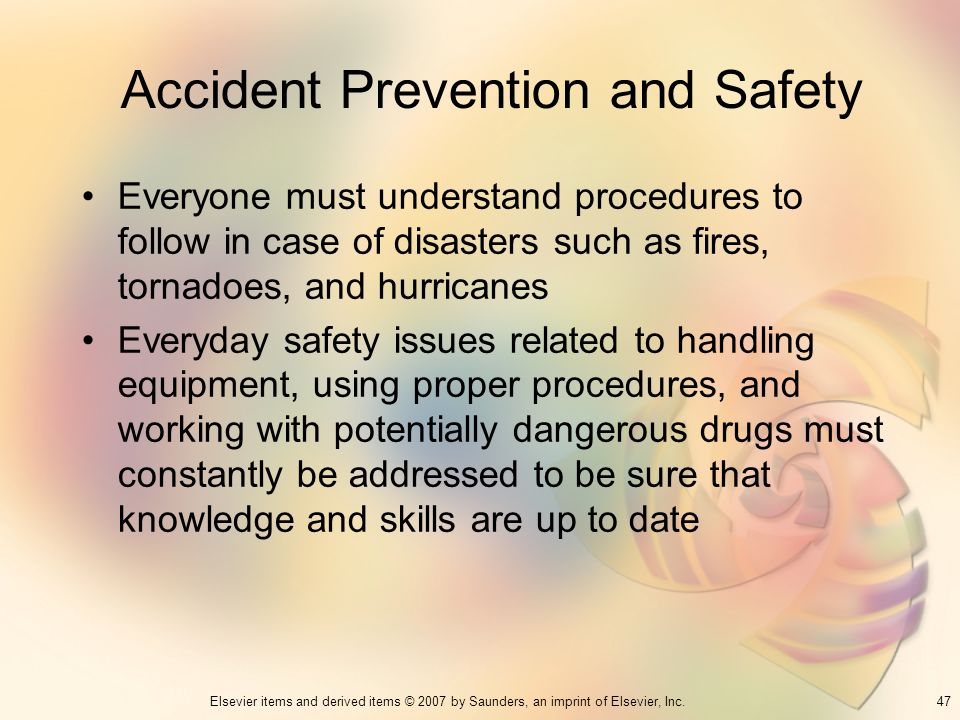 Accident Prevention and Safety