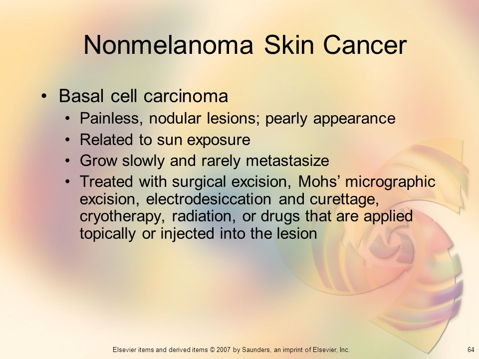 Nonmelanoma Skin Cancer