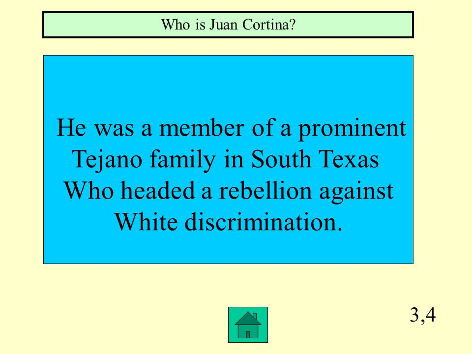 He was a member of a prominent Tejano family in South Texas