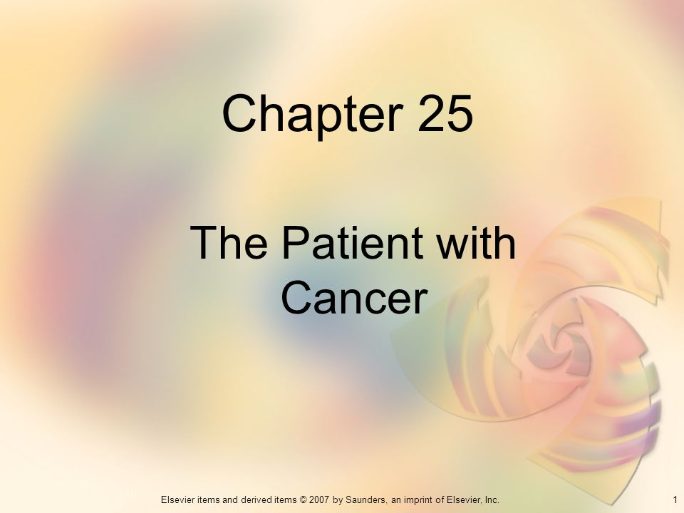 The Patient with Cancer