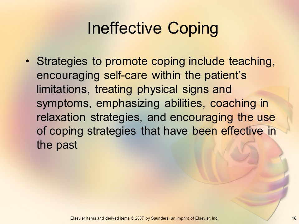 Ineffective Coping