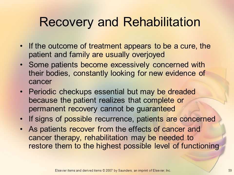 Recovery and Rehabilitation