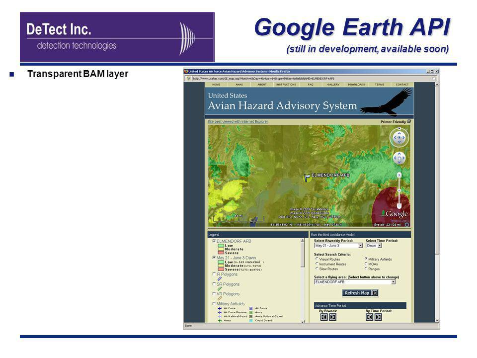 Google Earth API (still in development, available soon)