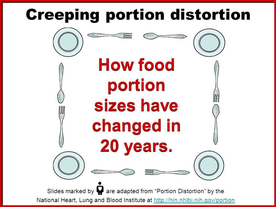 Creeping portion distortion