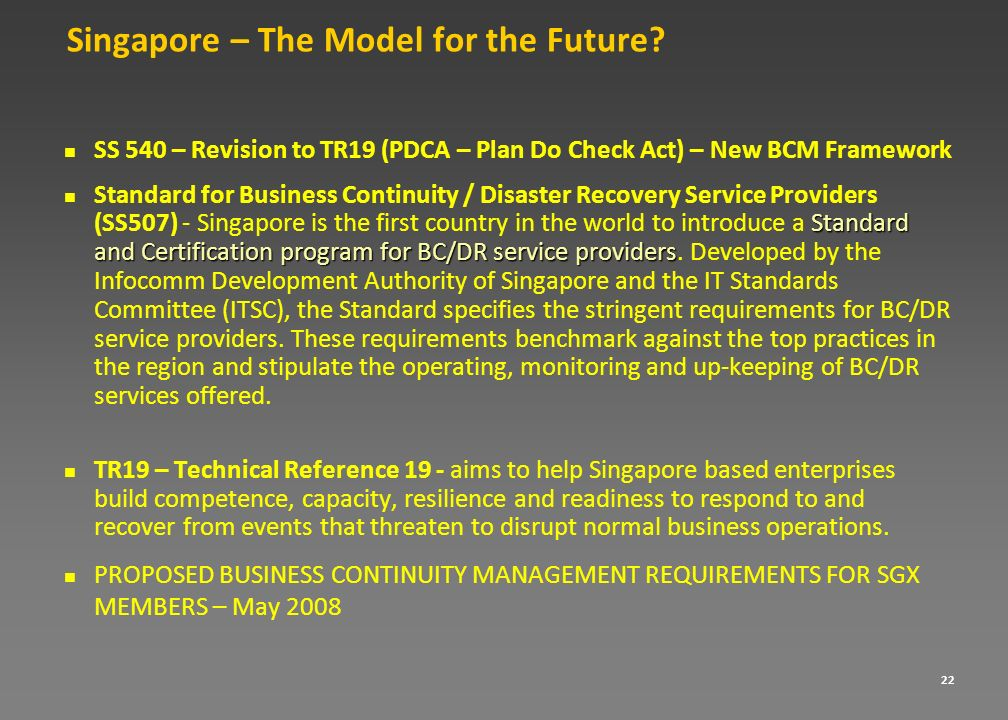 Singapore – The Model for the Future