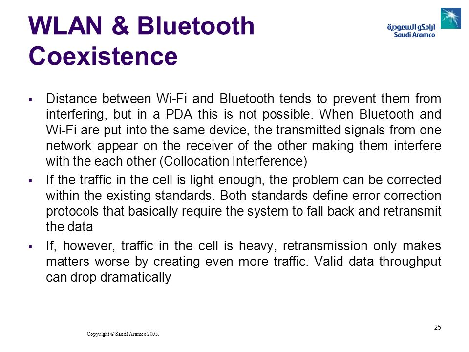 WLAN & Bluetooth Coexistence