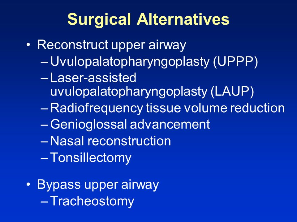 Surgical Alternatives