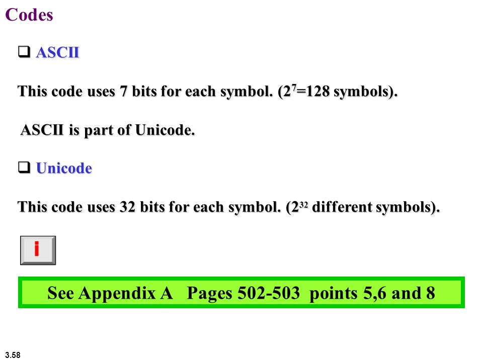 See Appendix A Pages points 5,6 and 8