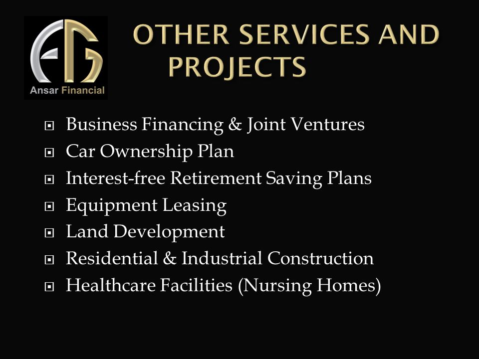 T OTHER SERVICES AND PROJECTS