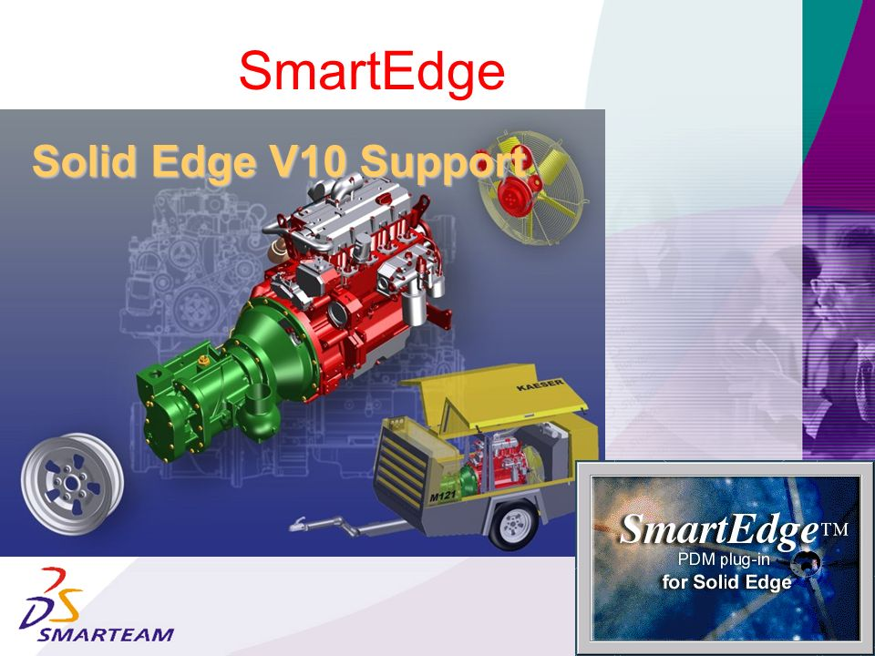 SmartEdge Solid Edge V10 Support