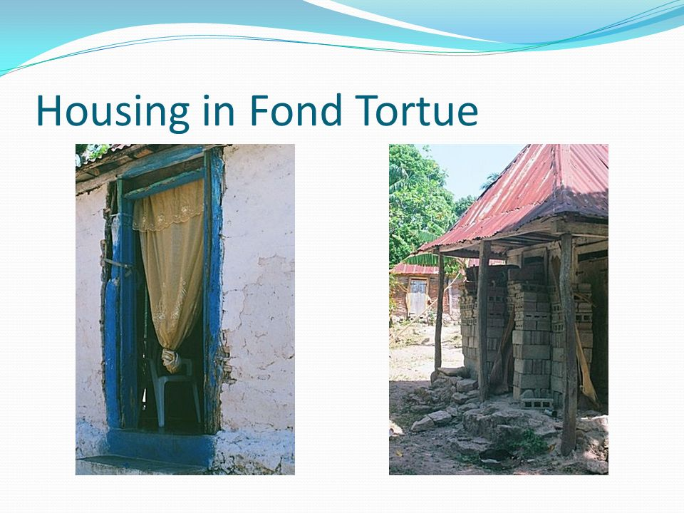 Housing in Fond Tortue