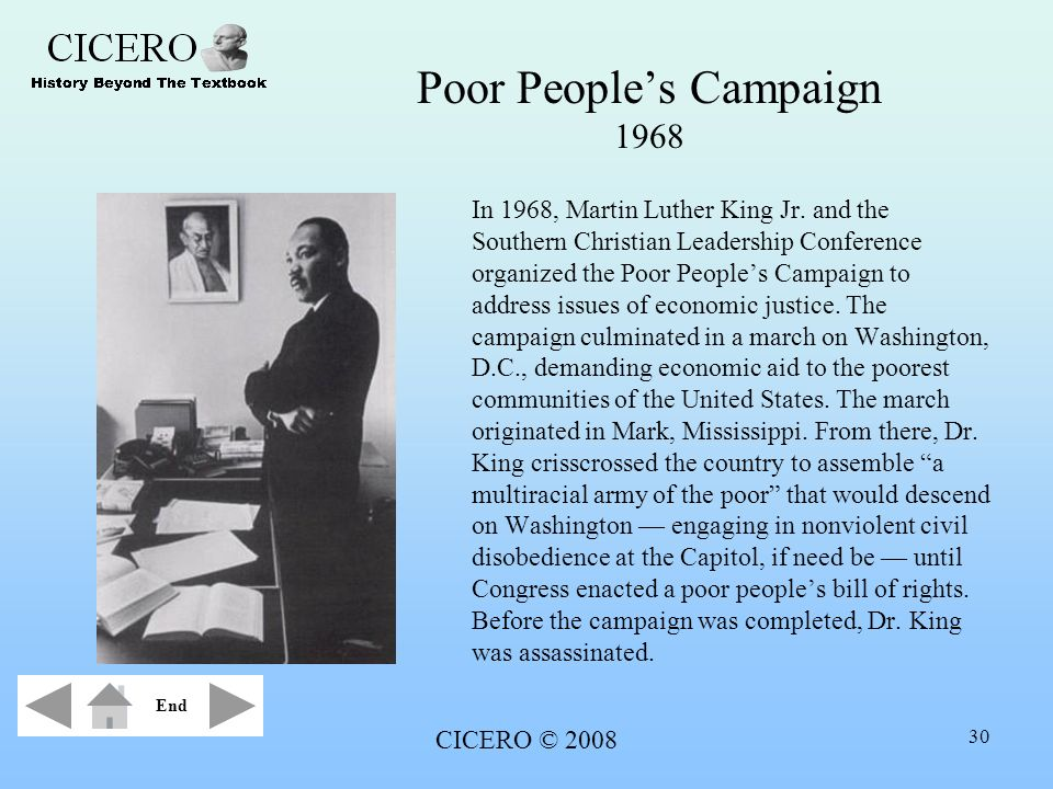 Poor People's Campaign 1968