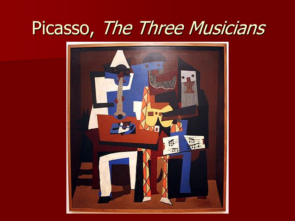 Picasso, The Three Musicians