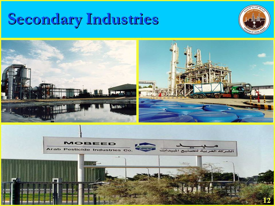 Secondary Industries 20 12