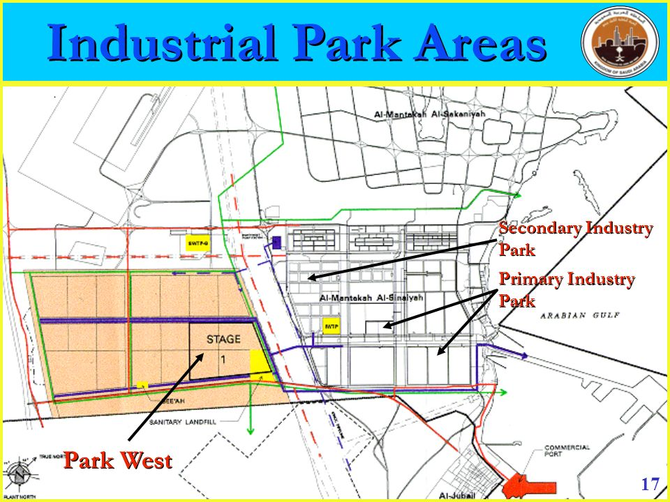 Industrial Park Areas Park West Secondary Industry Park