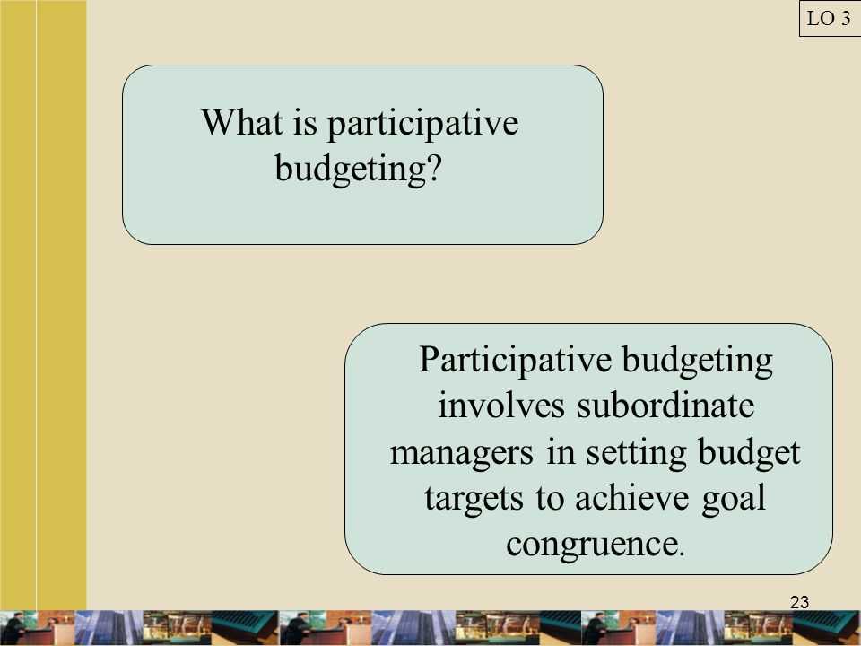 What is participative budgeting